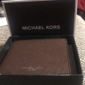MICHAEL KORS Chocolate Brown Wallet